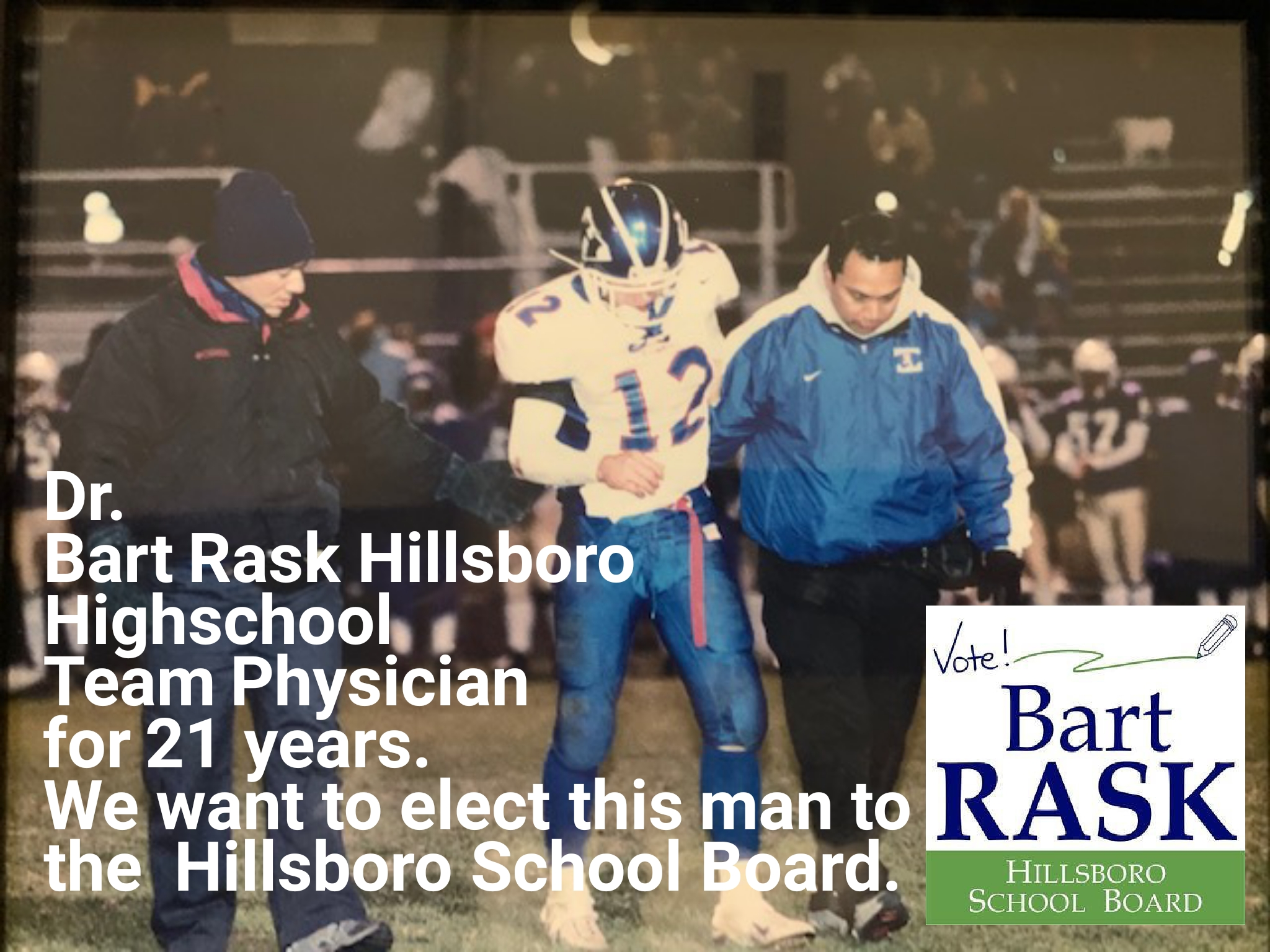 Bart Rask Hillsboro School Board